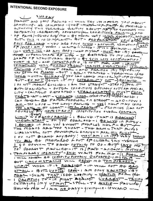 Letter to Pauline Turkel